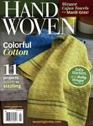 Handwoven Magazine 1/1/2015