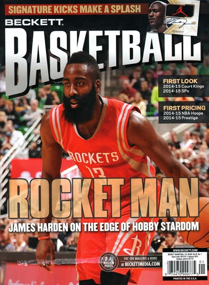 Beckett Basketball Cover - 1/1/2015