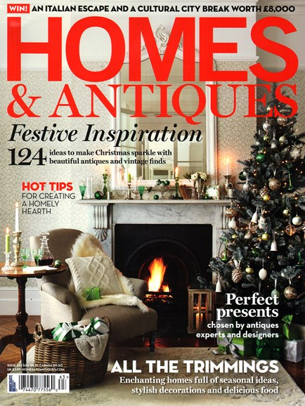 Homes & Antiques Cover - 12/1/2014