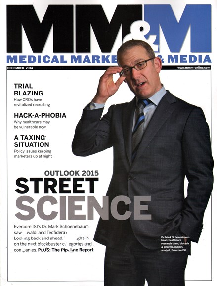 Medical Marketing & Media Cover - 12/1/2014