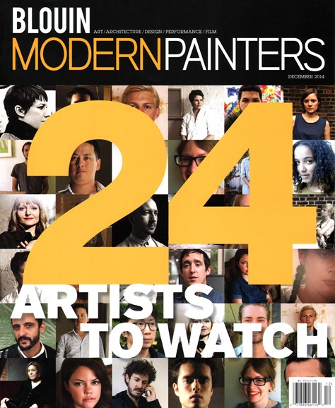 Blouin Modern Painters Cover - 12/1/2014
