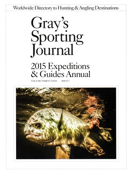 Gray's Sporting Journal Cover - 1/1/2015