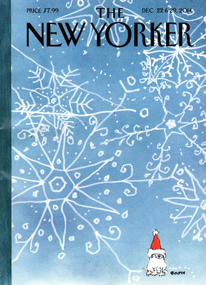 The New Yorker Cover - 12/22/2014