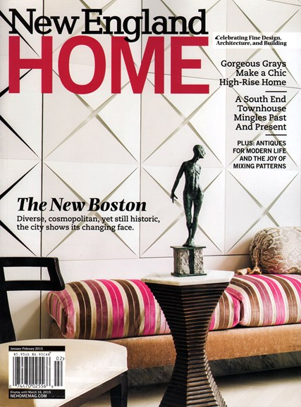 New England Home Cover - 1/1/2015