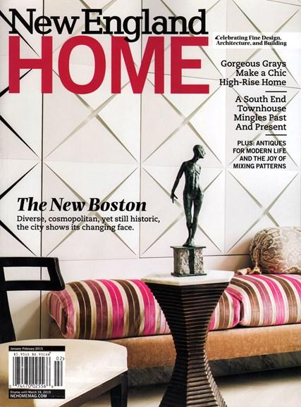 New England Home Cover - 1/1/2015