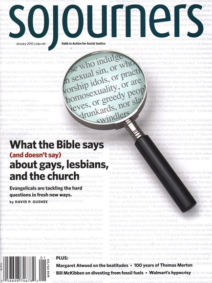 Sojourners Cover - 1/1/2015