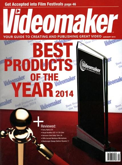 Videomaker Cover - 1/1/2015
