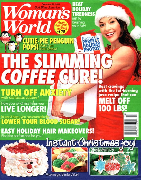 Woman's World Cover - 12/29/2014