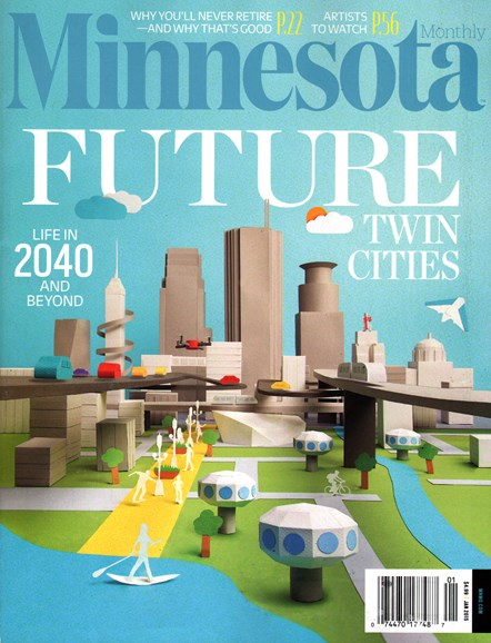 Minnesota Monthly Cover - 1/1/2015