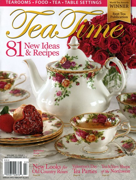 Tea Time Cover - 1/1/2015