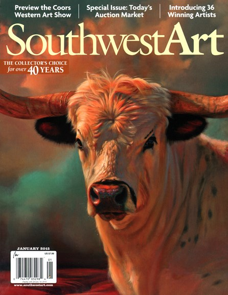Southwest Art Cover - 1/1/2015