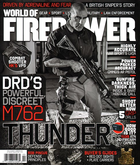 World of Firepower Cover - 1/1/2015