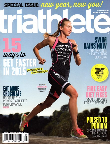 Triathlete Cover - 1/1/2015