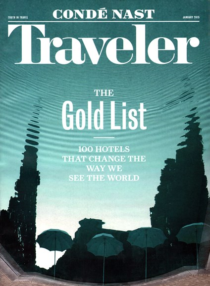 Condé Nast Traveler Cover - 1/1/2015