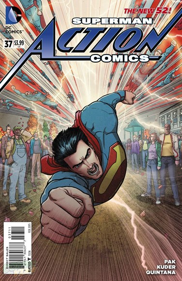 Action Comics Cover - 2/1/2015