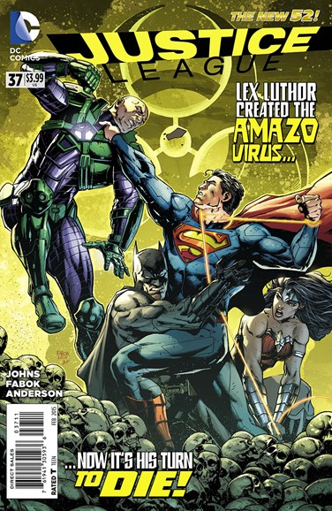 Justice League Cover - 2/1/2015