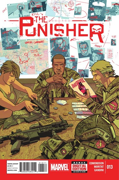 The Punisher Cover - 2/1/2015
