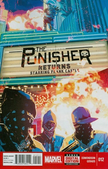 The Punisher Cover - 1/1/2015