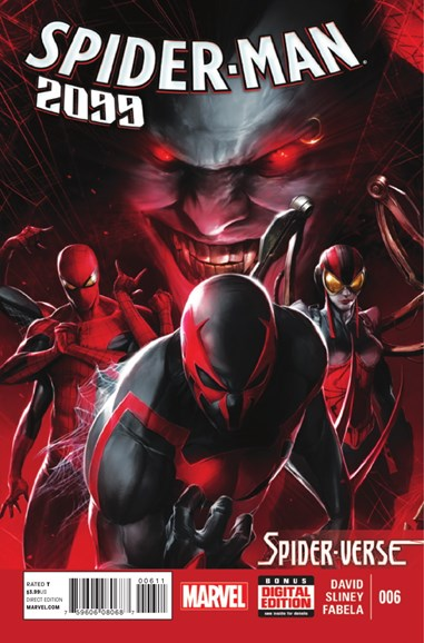 Spider-Man 2099 Cover - 1/1/2015