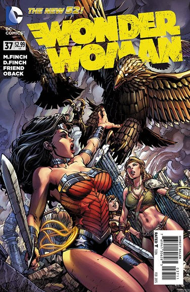 Wonder Woman Cover - 2/1/2015