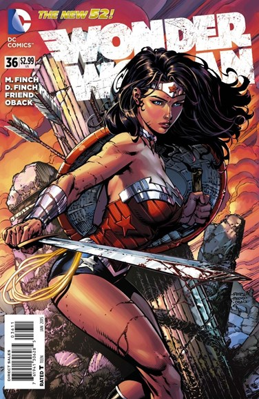 Wonder Woman Cover - 1/1/2015