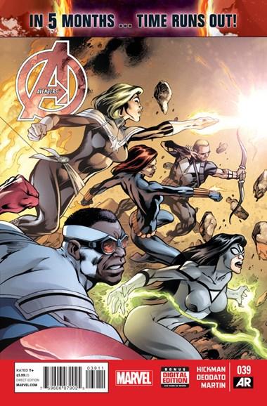 Avengers Cover - 2/1/2015