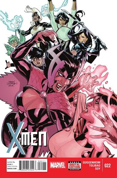 X-Men Gold Cover - 2/1/2015