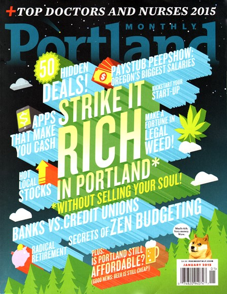 Portland Monthly Cover - 1/1/2015