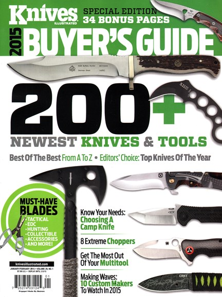 Knives Illustrated Cover - 1/1/2015
