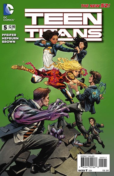 Teen Titans Cover - 2/1/2015