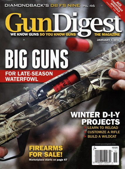 Gun Digest Cover - 1/1/2015