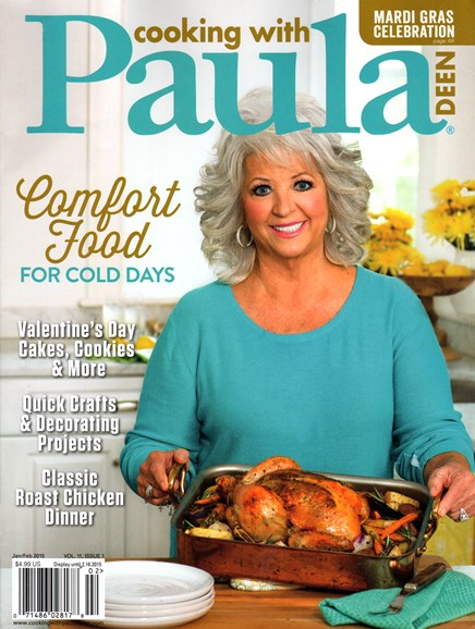 Cooking With Paula Deen Cover - 1/1/2015