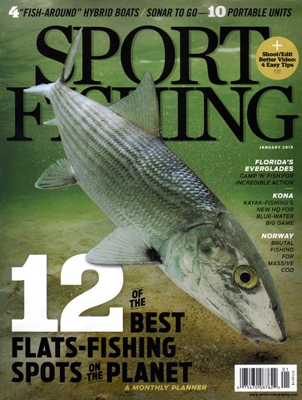 Sport Fishing Cover - 1/1/2015