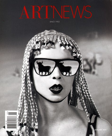 ARTnews Cover - 1/1/2015