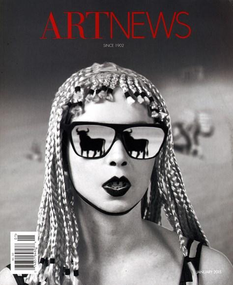 ARTnews Cover - 1/1/2015