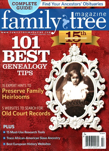 Family Tree Cover - 1/1/2015