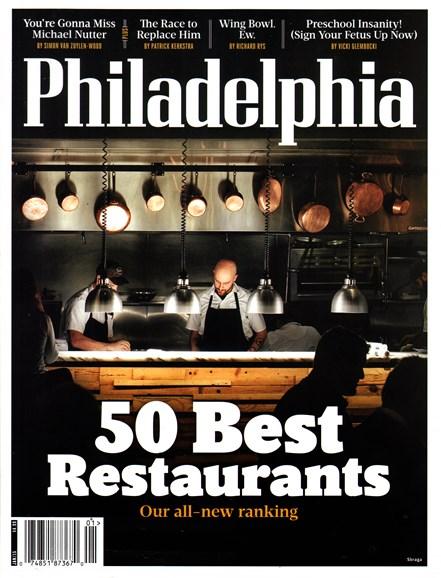 Philadelphia Magazine Cover - 1/1/2015