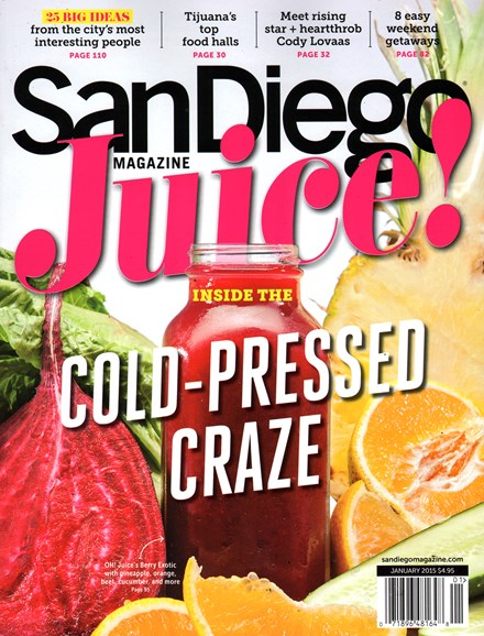 San Diego Cover - 1/1/2015