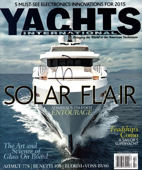 Yachts International Cover - 1/1/2015