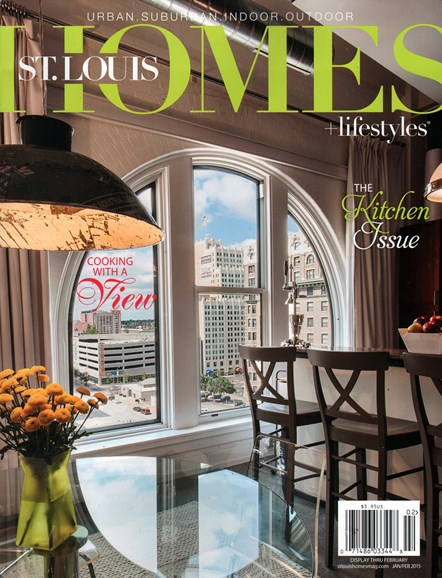 St. Louis Homes & Lifestyles Cover - 1/1/2015
