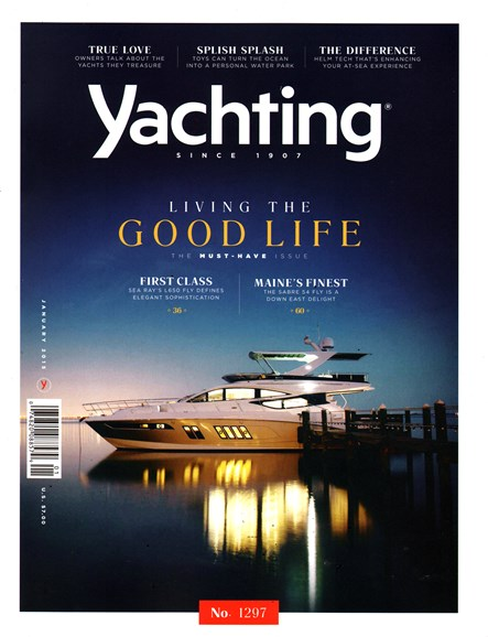 Yachting Cover - 1/1/2015