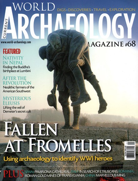 Current World Archaeology Cover - 12/1/2014