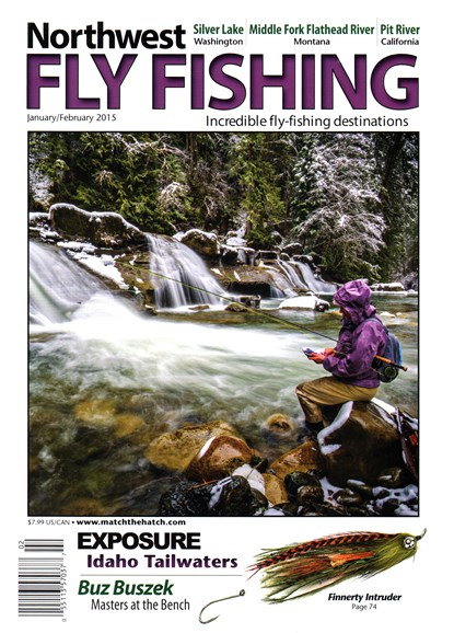 Northwest Fly Fishing Cover - 1/1/2015