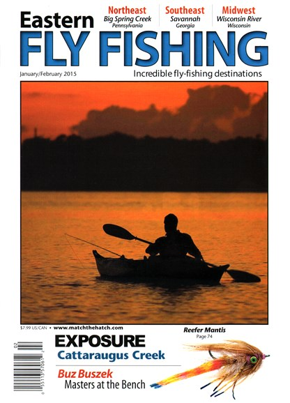 Eastern Fly Fishing Cover - 1/1/2015