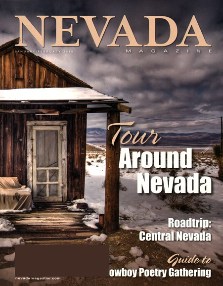 Nevada Magazine Cover - 1/1/2015