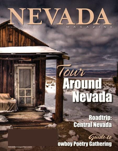 Nevada Magazine Cover - 1/1/2015