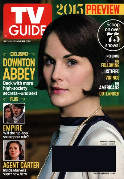 TV Guide Cover - 1/5/2015