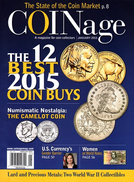 Coinage Cover - 1/1/2015