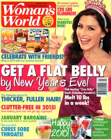 Woman's World Cover - 1/5/2015