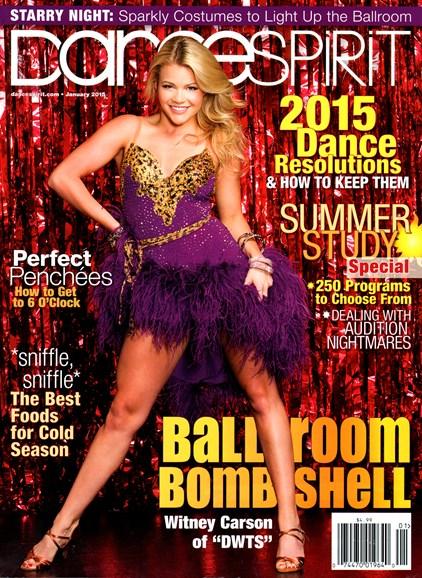 Dance Spirit Cover - 1/1/2015